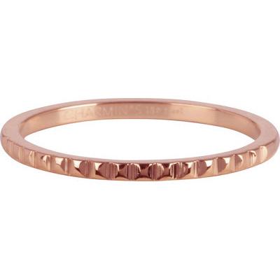 Charmin*s Ring Half Nefertitit Rosé Gold Steel R814