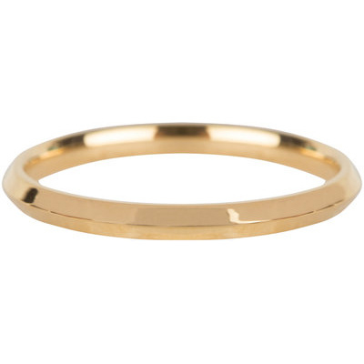 Charmin*s Ring Basic Hooked Gold Steel R668