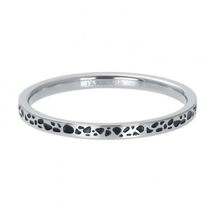 iXXXi vulring 2 mm Spots Zilver Zwart
