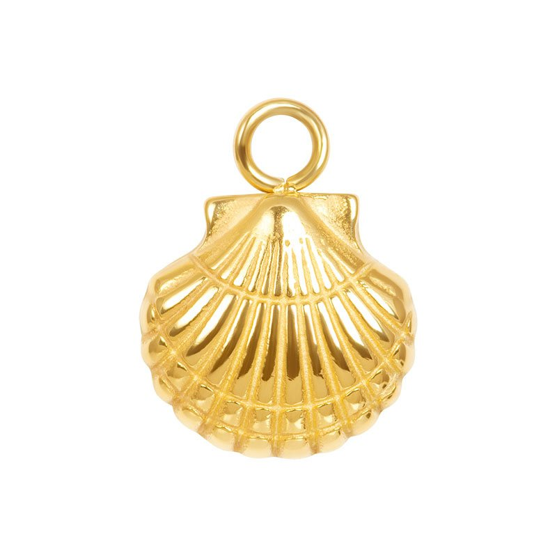 Charms Shell Goud