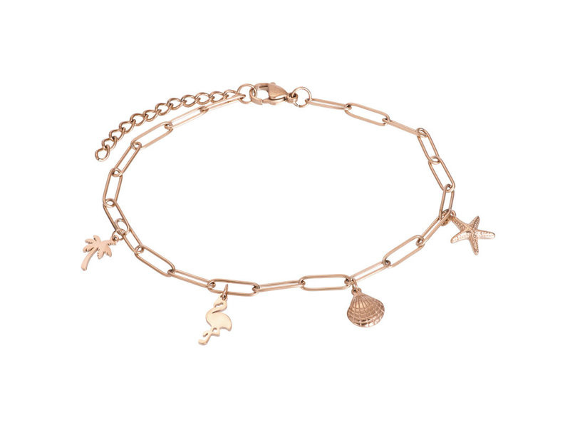 Ankle Whit Charms Rosé