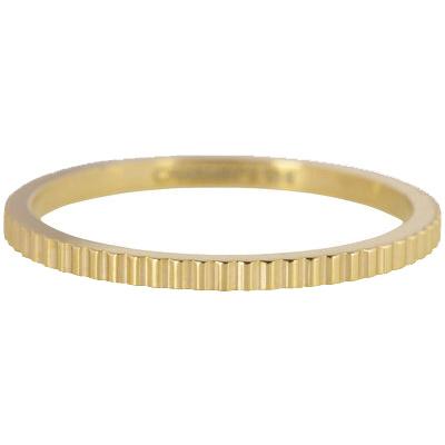 Charmin*s Ring Gold 'Steel Bricks' R399