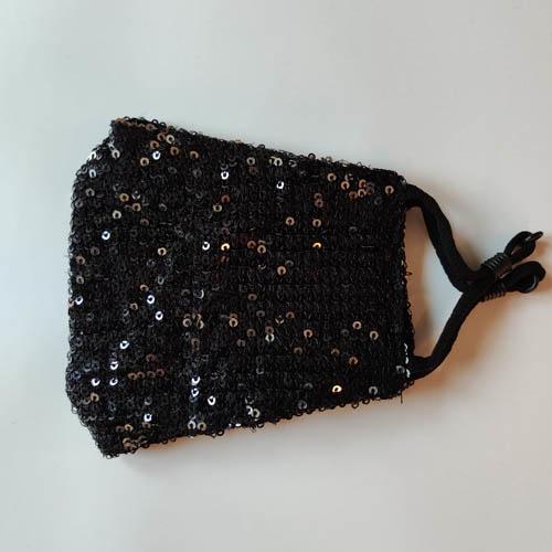 Mondkapje Glamour Zwart