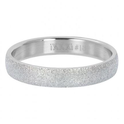 iXXXi Vulring 4 mm Sandblasted Zilver