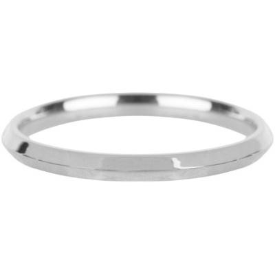 Charmin*s Ring Basic Hooked Shiny Steel R667