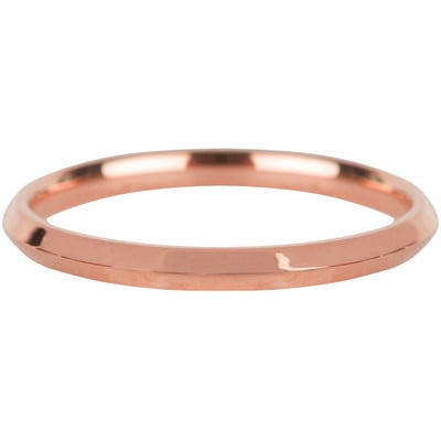 Charmin*s Ring Basic Hooked Rosé Steel R669