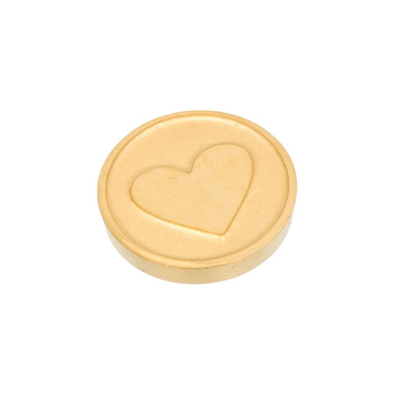 Top Part Heart Goud