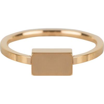 Charmin*s Ring Block Gold Steel R612