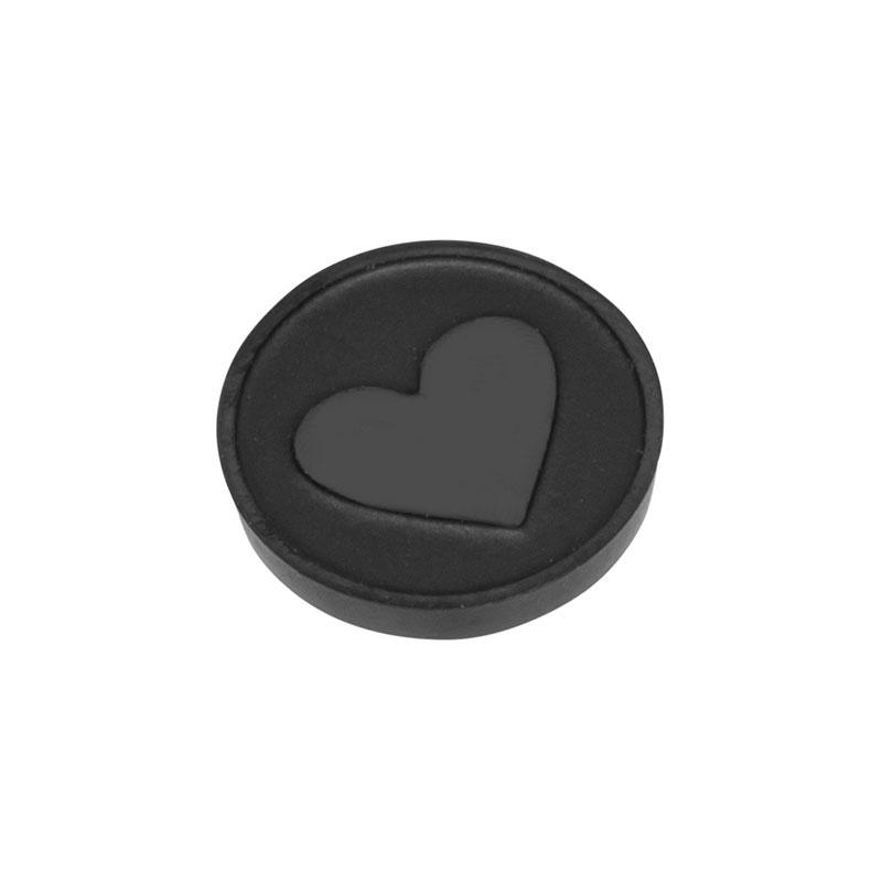 Top Part Heart Zwart