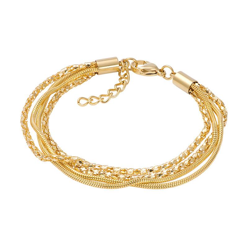 iXXXi Armband Snake Popcorn Goud