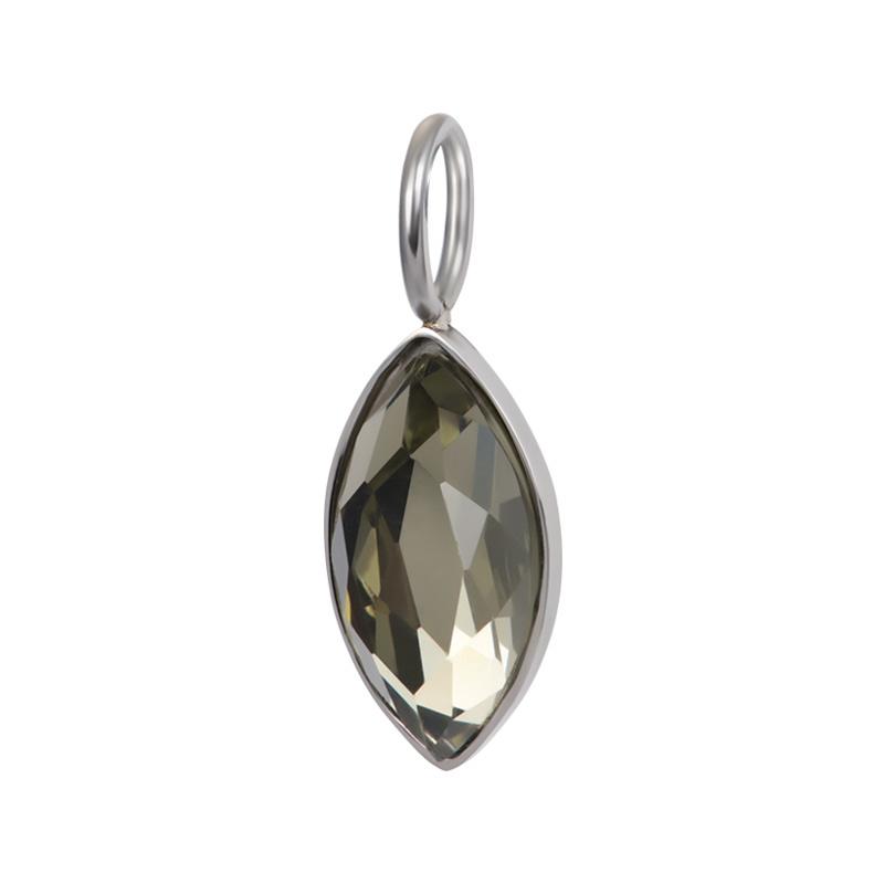 Charm Royal Diamond Crystal Zilver