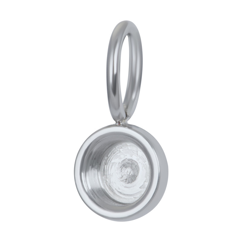 Charms Top Part Base Zilver