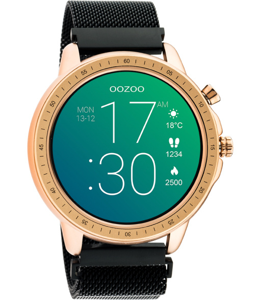 OOZOO Smartwatch Q00308 Black/Black