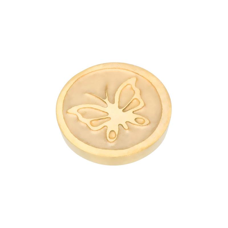 Top Part Butterfly Goud