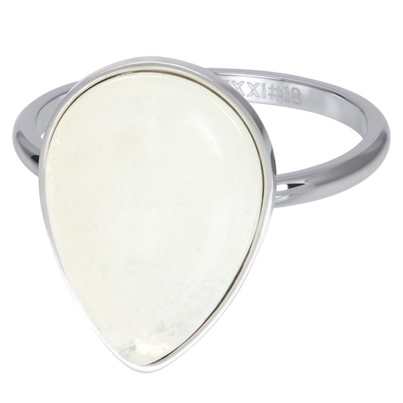 iXXXi Vulring 2 mm Royal Stone Drop White Zilver