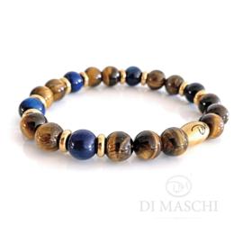 Oro bruin, blauwe tijgeroog & gold (3 varianten)