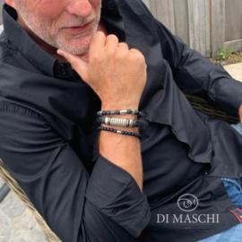 Zwarte armband set