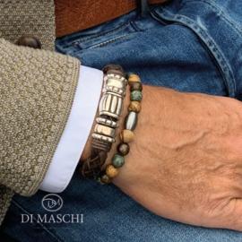Bruine armband set