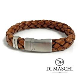 Lusso Kastanje basic armband