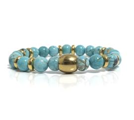 Oro turquoise & gold (3 varianten)