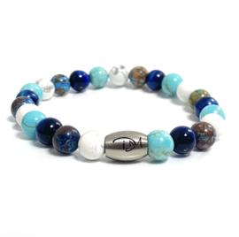 Summer Blue, Turquoise & White (3 varianten)