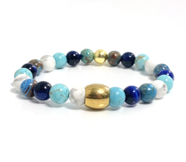 Oro Summer blue & white gold (3 varianten)