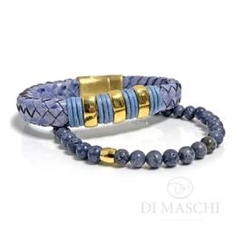 Summer blue armband set
