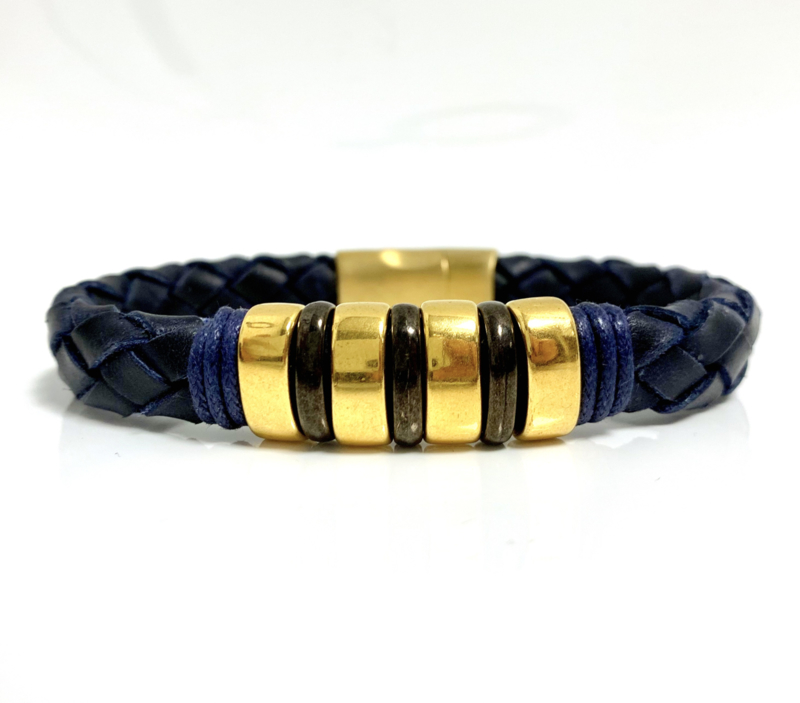 Lusso Blue with a touch of Black & Gold