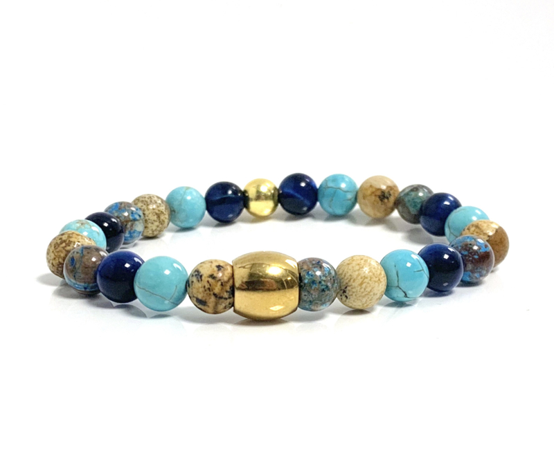 Oro Summer blue & brown gold (3 varianten)