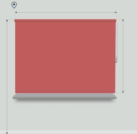 Fun kleuren - breedte < 60cm
