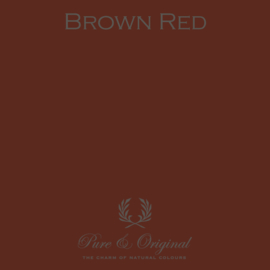 BROWN RED - Pure & Original - Fresco - Kalkverf