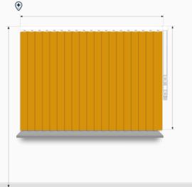 Fun kleuren - breedte 201 - 240cm