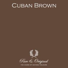 CUBAN BROWN - Pure & Original - Fresco - Kalkverf
