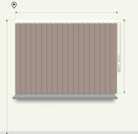 Neutrale kleuren - breedte 161 - 200cm