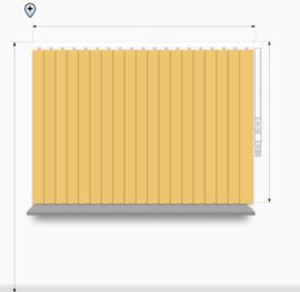 Fun kleuren - breedte 321 - 360cm
