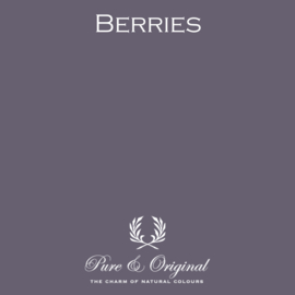 BERRIES - Pure & Original - LICETTO - Reinigbare matte muurverf