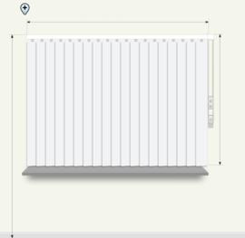 Verticale jaloezieën - lamelbreedte 89mm