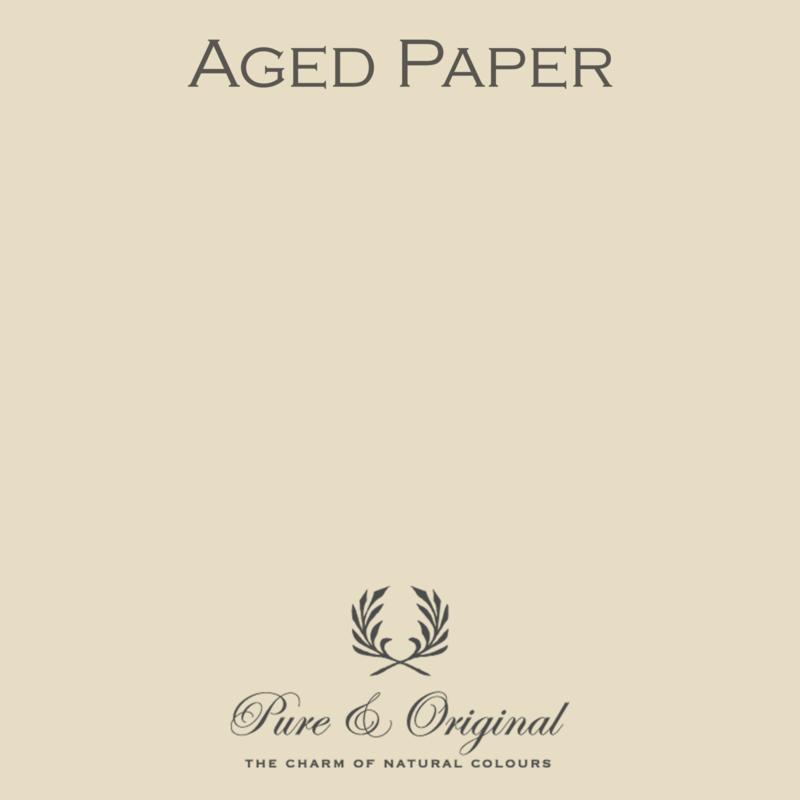 AGED PAPER - Pure & Original - LICETTO - Reinigbare matte muurverf