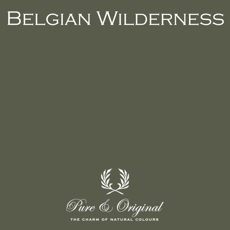 BELGIAN WILDERNESS - Pure & Original - LICETTO - Reinigbare matte muurverf