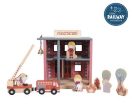 Little Dutch Treinbaanuitbreiding - brandweerkazerne