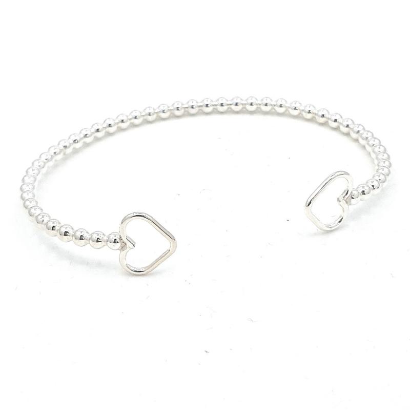Zilveren armband.