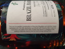 Barbados-Brazil Madeira cask finished rum by Sabor