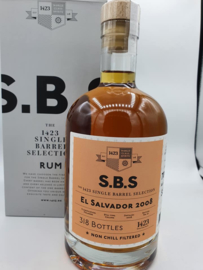 SBS El Salvador 2008/2020 single cask rum
