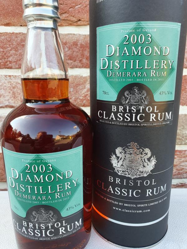 Diamond Rum (Guyana) Bristol 2003