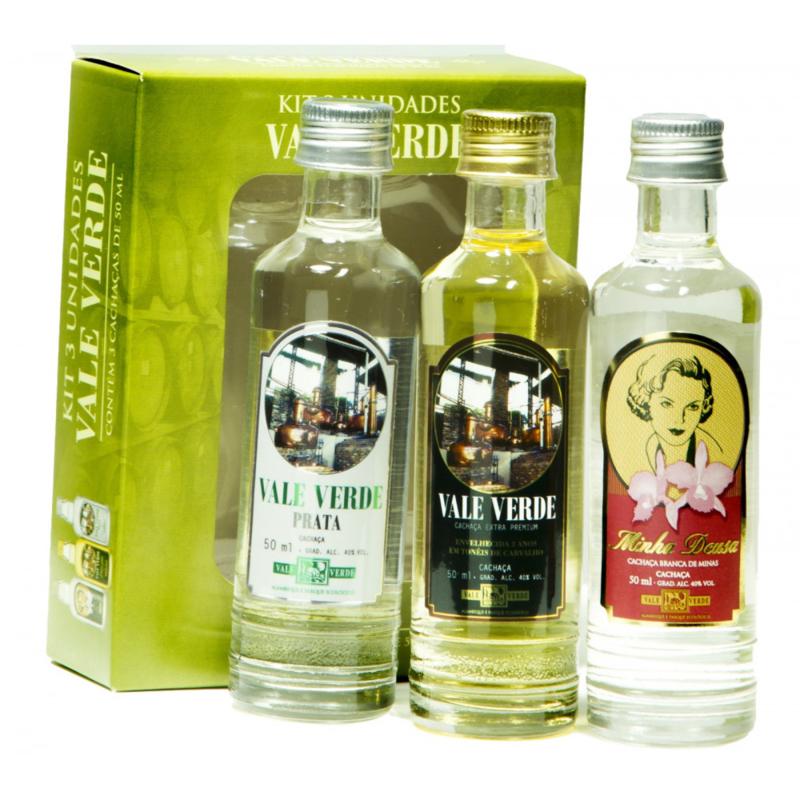 Vale Verde miniature kit 3x5 cl