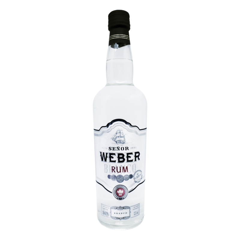 Brazilian Rum Senor Weber Silver
