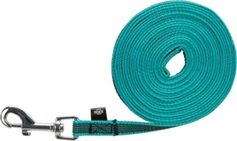 Trixie sleeplijn turquoise 5 meter x 1,5 cm