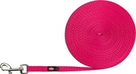 Trixie sleeplijn roze 10 meter x 1 cm