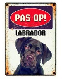 Waakbord labrador