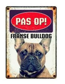 Waakbord franse bulldog